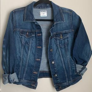OLD NAVY CLASSIC FIT BLUE JEAN JACKET | Small